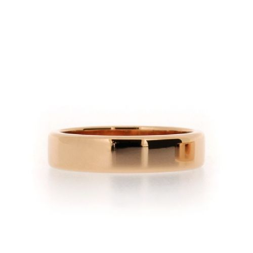 Flat Section Wedding Ring